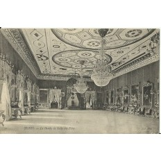 cpa tunisie vers 1900 tunis le bardo la salle des fetes