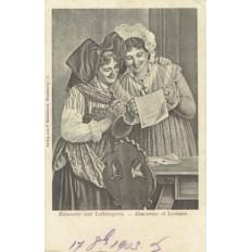 CPA - ALSACE - Alsacienne & Lorraine - Années 1900