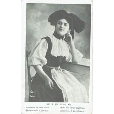 CPA - ALSACE - Alsacienne - Années 1910