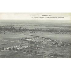CPA - CERNAY (Guerre 14-18) - Usine Sandoswiller Bombardée - Années 1920