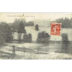 CPA - CHATEAU DU BEC THOMAS - Vue Prise De l'Étang - Années 1910