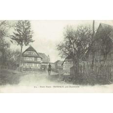 CPA - DANNEMARIE - Manspach - Année 1918