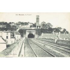 CPA - MEULAN - Le Tunnel - Années 1910