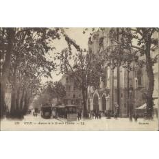 CPA - NICE, Avenue de la Grande Victoire, vers 1920.
