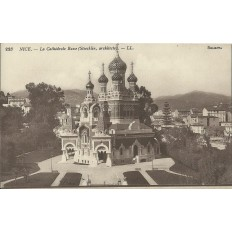 CPA - NICE, CATHEDRALE RUSSE (STOECKLIN ARCHITECTE), vers 1910.
