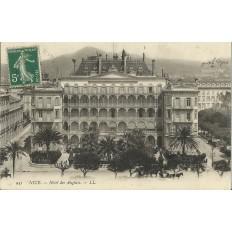 CPA - NICE, HOTEL DES ANGLAIS, Années 1900.
