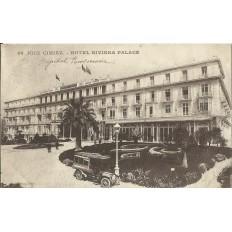 CPA - NICE, HOTEL RIVIERA PALACE, vers 1900.