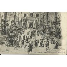 CPA - NICE, INTERIEUR DU CASINO MUNICIPAL, vers 1900.