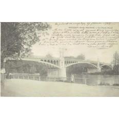CPA - NOGENT SUR MARNE - Le Pont Neuf - Années 1900.