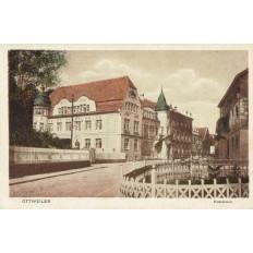 CPA - OTTWEILER - Kreishaus - Années 1930 (ALLEMAGNE). DEUTSCHLAND.