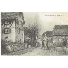 CPA - STRUETH - La Grande Rue - Années 1910.