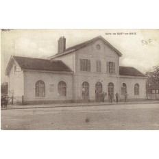 CPA - SUCY EN BRIE - La Gare - Années 1930