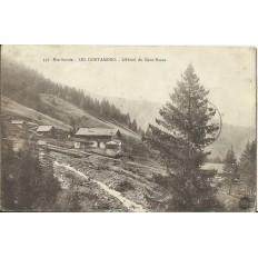 CPA: LES CONTAMINES, l'HOTEL du NANT-BORAN. Années 1910.