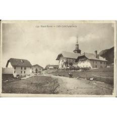 CPA: LES CONTAMINES. Années 1910.