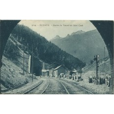 cpa modane entree du tunnel du mont cenis ann es 1910. Black Bedroom Furniture Sets. Home Design Ideas