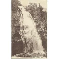 CPA: THONON-LES-BAINS. CASCADE DE CHEVENOZ. . Années 1910.