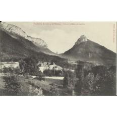 CPA: TRAMWAY D'ANNECY à THONES, ALEX ET LA DENT DE LANFON. Années 1900.