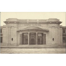CPA: AIX-EN-PROVENCE, LE CASINO MUNICIPAL vers 1930.