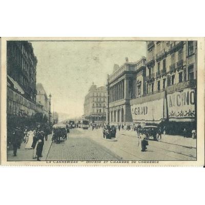 cpa marseille bourse et chambre du commerce vers 1900. Black Bedroom Furniture Sets. Home Design Ideas