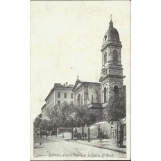 CPA: CORSE, AJACCIO, COURS NAPOLEON ET EGLISE ST.ROCH, ANNEES 1910.