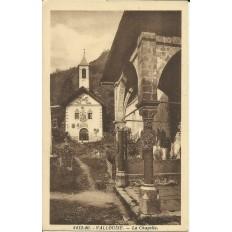 CPA: VALLOUISE, LA CHAPELLE. Années 1910.