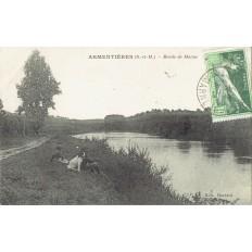 CPA - ARMENTIERES - Bords De La Marne - Années 1920