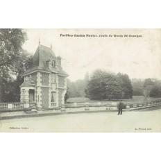 CPA - BUSSY SAINT GEORGES - Pavillon Gaston Menier - Années 1910