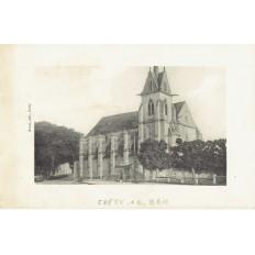 CPA - CRECY EN BRIE - Eglise De La Chapelle - Années 1920