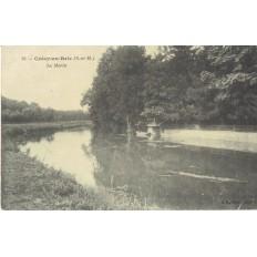 CPA - CRECY EN BRIE - Le Morin - Années 1910.