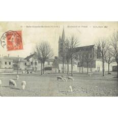 CPA - BRIE COMTE ROBERT - Boulevard De L'Ouest - Années 1900