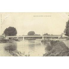 CPA - BRY SUR MARNE - Le Pont De Bry - Années 1900