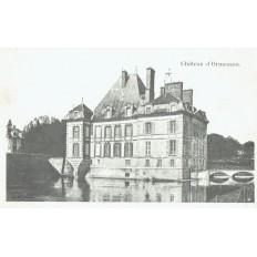 CPA - ORMESSON - Le Château - Années 1910