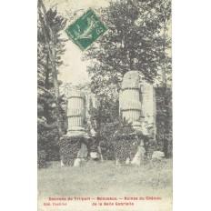 CPA - MONCEAUX - Ruines Du Château De La Belle Gabrielle - Années 1900