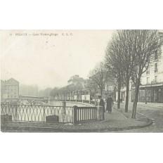 CPA - MEAUX - Quai Victor Hugo - Années 1900