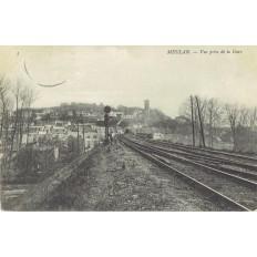 CPA - MEULAN - Vue Prise De La Gare - Années 1900