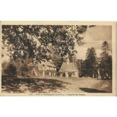 CPA: Foret de PAIMPONT. Chapelle des Forges, Années 1930