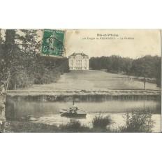 CPA: Le sForges de PAIMPONT. Le Pavillon, Années 1900