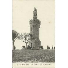 CPA: LE MONT-DOL, La Vierge, Années 1900