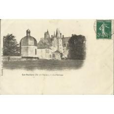 CPA: LE CHATEAU DES ROCHERS (près VITRE), Années 1900.
