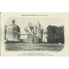 CPA: CHATEAU DES ROCHERS (près VITRE), Années 1900.