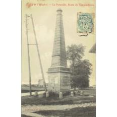 CPA - JUVISY - La Pyramide, Route De Fontainebleau - Années 1900