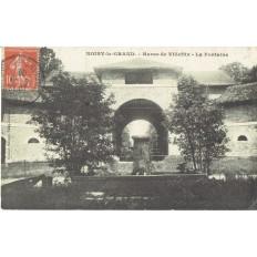 CPA - NOISY LE GRAND - Haras De Villeflix - La Fontaine - Années 1900