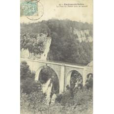 CPA - ENVIRON DE SALINS - Le Pont Du Diable (Pris En Amont) - Années 1900