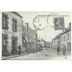 AGRANDISSEMENT CPA 1900: LA TURBALLE, LA GRANDE RUE
