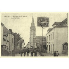 AGRANDISSEMENT CPA 1900: LA CHAPELLE-SUR-ERDRE, Sortie de