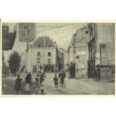 AGRANDISSEMENT CPA 1900: ANGERS, Place de la Laiterie