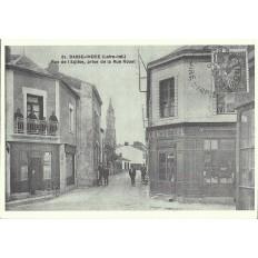 AGRANDISSEMENT CPA 1900: BASSE-INDRE, Rue de l'Eglise.