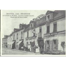 AGRANDISSEMENT CPA 1900: GUERANDE, HOTEL DES PRINCES