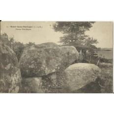 CPA: SAINT-QUAY-KERTUGAL, Pierres Druidiques, vers 1910