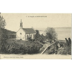 CPA: SAINT-EFFLAM, La Chapelle, vers 1900